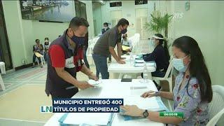 El Municipio de Guayaquil entregó 400 títulos de propiedad