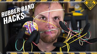 TESTING Rubber Band Life Hacks (Do They Actually Work?)