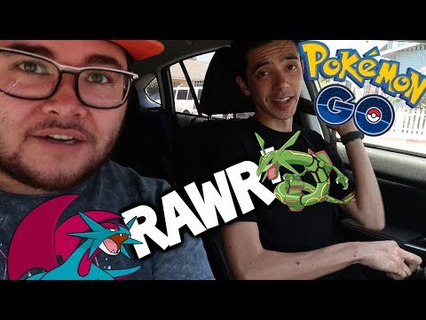 connectYoutube - RAYQUAZA, SALAMENCE & METAGROSS in POKEMON GO TODAY ft. Trainer Tips & FILIP in San Diego!