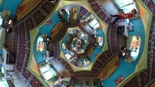 Funhouse spiral staircase