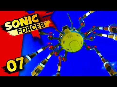 UNE ARAIGNÉE VENUE DU CIEL ! - SONIC FORCES #07 - LET'S PLAY SWITCH (FR)