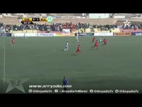 #كأس الكونفدرالية| إف سي نواذيبو 0-1 الرجاء هدف محسن ياجور