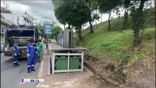Agradecen a Emaseo por reparar contenedores de basura en Matovelle