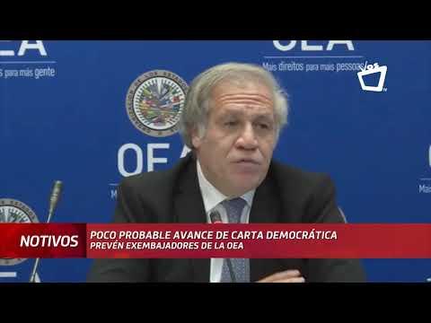 Poco probable aplicación de Carta Democrática para Nicaragua, prevén exembajadores de la OEA