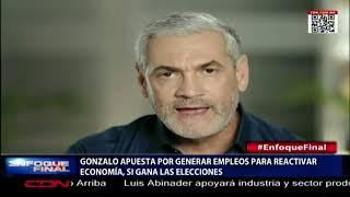 Gonzalo Castillo apuesta por generar empleos a través de la construcción para reactivar economía