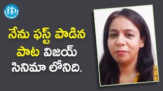 Singer MM Srilekha about her first song | Dil Se with Anjali | iDream Movies - IDREAMMOVIES