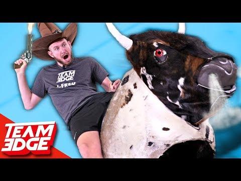 Mechanical Buckin' Bull Showdown!!🤠🐂