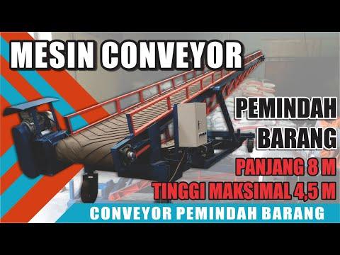 Conveyor Portable | Pemindah Barang Paraktis