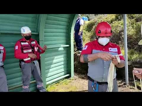 Cruz Roja y el SINAC se unieron para estar mejor preparados en casos de emergencia