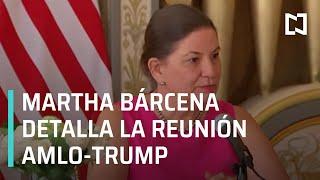 Conferencia sobre la visita del presidente de México a EEUU