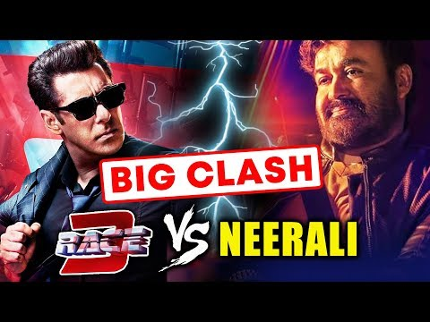connectYoutube - Salman Khan's RACE 3 TO CLASH WITH South Superstar Mohanlal's Film