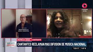 Cantantes reclaman más difusión de música