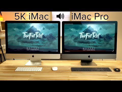 iMac Pro vs 5K iMac Speaker & FaceTime Comparison