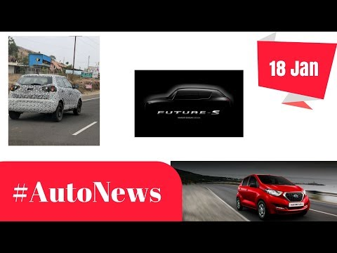 connectYoutube - #AutoNews | New Mahindra SUV, Maruti Future S, Hyundai in AE 2018, Redi-Go AMT, Audi Q5