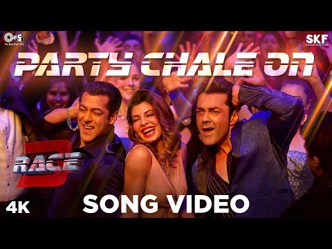PARTY CHALE ON LYRICS - Race 3 | Mika Singh