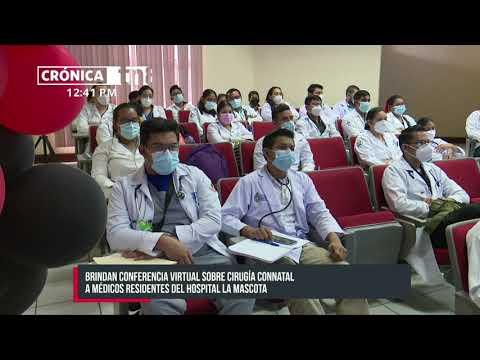 Fortalecen conocimientos a médicos pediátricos en Hospital La Mascota - Nicaragua
