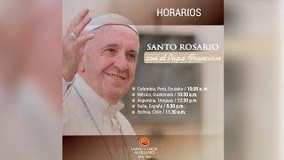 (((EN VIVO))) Santo Rosario con el Papa Francisco | Mayo 30 de 2020