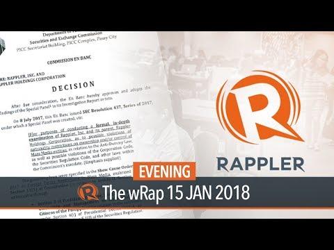 SEC revokes Rappler's registration