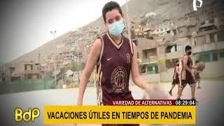 ¿Cómo serán las vacaciones útiles en pandemia