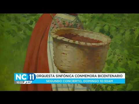 Orquesta sinfónica conmemoró el Bicentenario