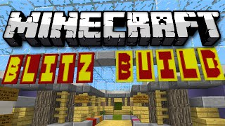 Minecraft: BLITZ BUILD - Speed Building Memory Game!