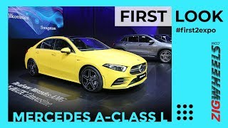 Mercedes-Benz A-Class L Sedan First Look Review | AMG A 35 | Auto Expo 2020 | ZigWheels.com