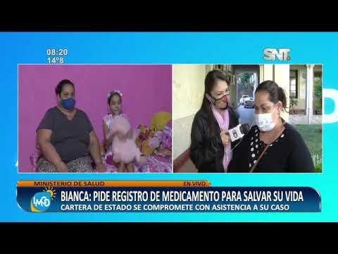 Bianca: Ministerio de Salud se comprometió con asistencia a su caso