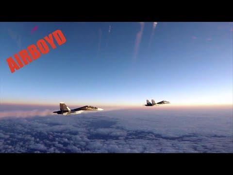 connectYoutube - U.S. F-15's Scramble And Intercept Russians