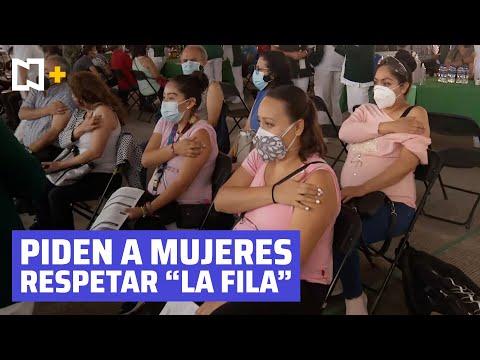 La Ssa desmiente que la vacunación contra el COVID-19 esté abierta para todas las mujeres