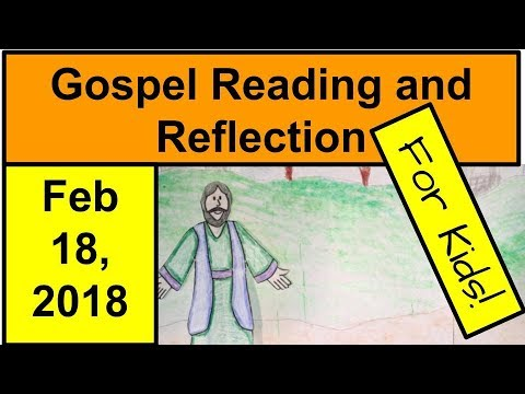 "reflection on sunday s gospel mark 2 1 12 ""sunday reflection"" is a regular feature, looking at the specific readings  this  morning's gospel reading is mark 1:12–15:  the spirit drove jesus out into the  desert, and he remained in the desert for forty days, tempted by satan  if we're  lucky, we'll get above zero at some point today, but most of us will."
