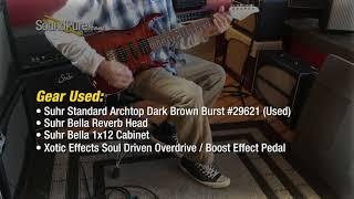 Suhr Standard Archtop Dark Brown Burst #29621 (Used) Quick n' Dirty