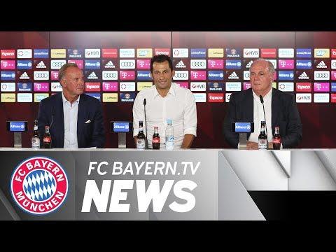 Hasan Salihamidžić new sporting director, anticipation for Audi Cup
