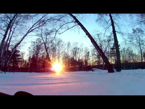 Закат 15.02.17 в Томске
