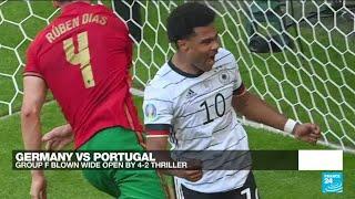 Euro 2020: Germany stun holders Portugal 4-2 at Euro 2020