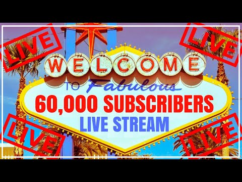 connectYoutube - 🔴 Welcome to FABULOUS 60,000 Subscribers 🎉  LIVE from LAS VEGAS Casino! ✦ Brian Christopher