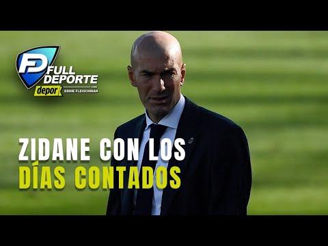 Zidane atraviesa su mayor crisis en el Real Madrid tras la eliminación en la Copa del Rey
