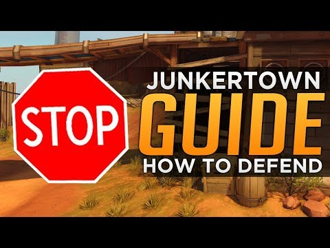 connectYoutube - Overwatch: How To DEFEND on Junkertown - Advanced Guide