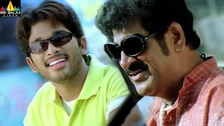 Bunny Movie Allu Arjun and Raghu Babu Comedy Scenes | Telugu Movie Comedy @SriBalajiMovies - SRIBALAJIMOVIES