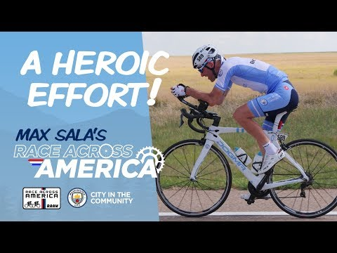 A Heroic Effort! | Max Sala's Race Across America