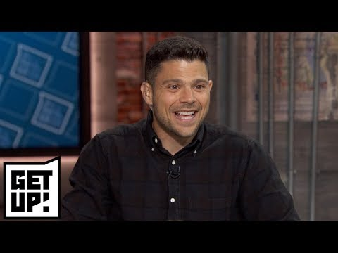 Jerry Ferrara interview on Kawhi to Raptors, New York Knicks and Mike Trout | Get Up! | ESPN