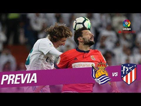 Previa Real Sociedad vs Atlético de Madrid