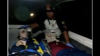 Dos personas atropelladas en Ruta hacia Antigua Guatemala