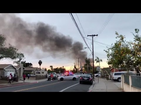 2 dead after small plane crashes into San Diego house