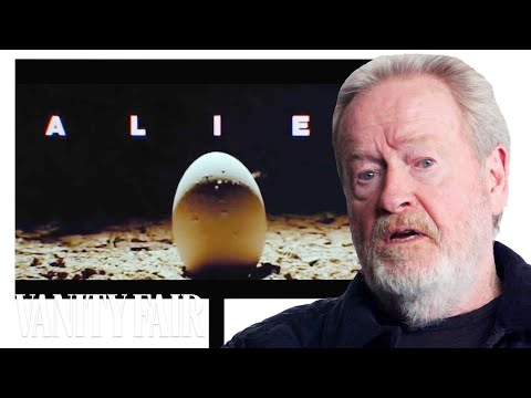 connectYoutube - Ridley Scott Does A Complete Timeline of Ridley Scott Movies | Vanity Fair