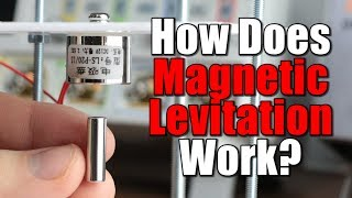 How does Magnetic Levitation work? || Crude Levitator circuit