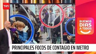 ¿En qué lugares del Metro es más riesgoso contraer un contagio de COVID-19 | Buenos días a todos