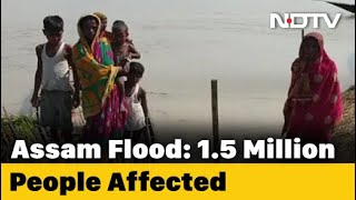 COVID-19 News: Floods Trigger Huge Crisis For Assam Villages Crippled By COVID-19 - NDTV