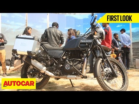 Royal Enfield Himalayan | First Look