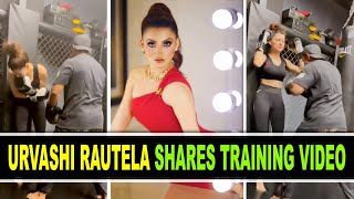 When Urvashi Rautela got punched in gut - BOLLYWOODCOUNTRY