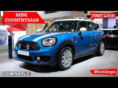 MINI Countryman   First Look   Auto Expo 2018   ZigWheels.com